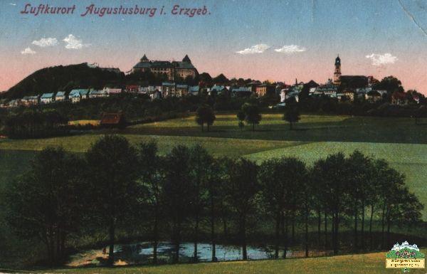 Schloss Augustusburg und die vier Teiche