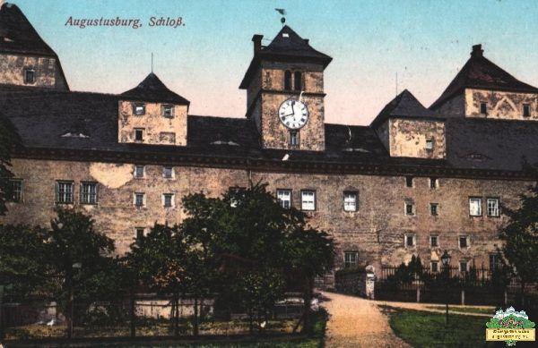 Ansichtskarte Schloss Augustusburg