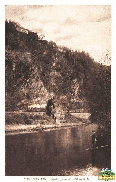 Ansichtskarte Kunnerstein bei Kunnersdorf